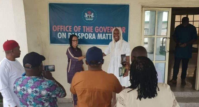 IMO SA ON DIASPORA RECEIVES GOLD MEDALIST CHIOMA AJUNWA-OPARA