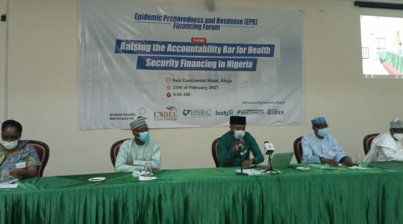 LISDEL HOLDS WORKSHOP ON EPIDEMIC PREPAREDNESS & RESPONSE FINANCING, ……. Kano state tops list with 16% of budget on Health.