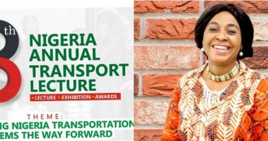 Amb Ekpa To Speak As The 8thNigeria Annual Transport Lecture Holds On May 21…