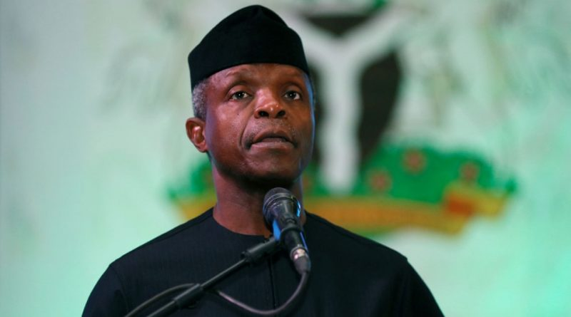 CWON CONFERENCE: VP Yemi Osinbajo advocates national outpouring of prayers.
